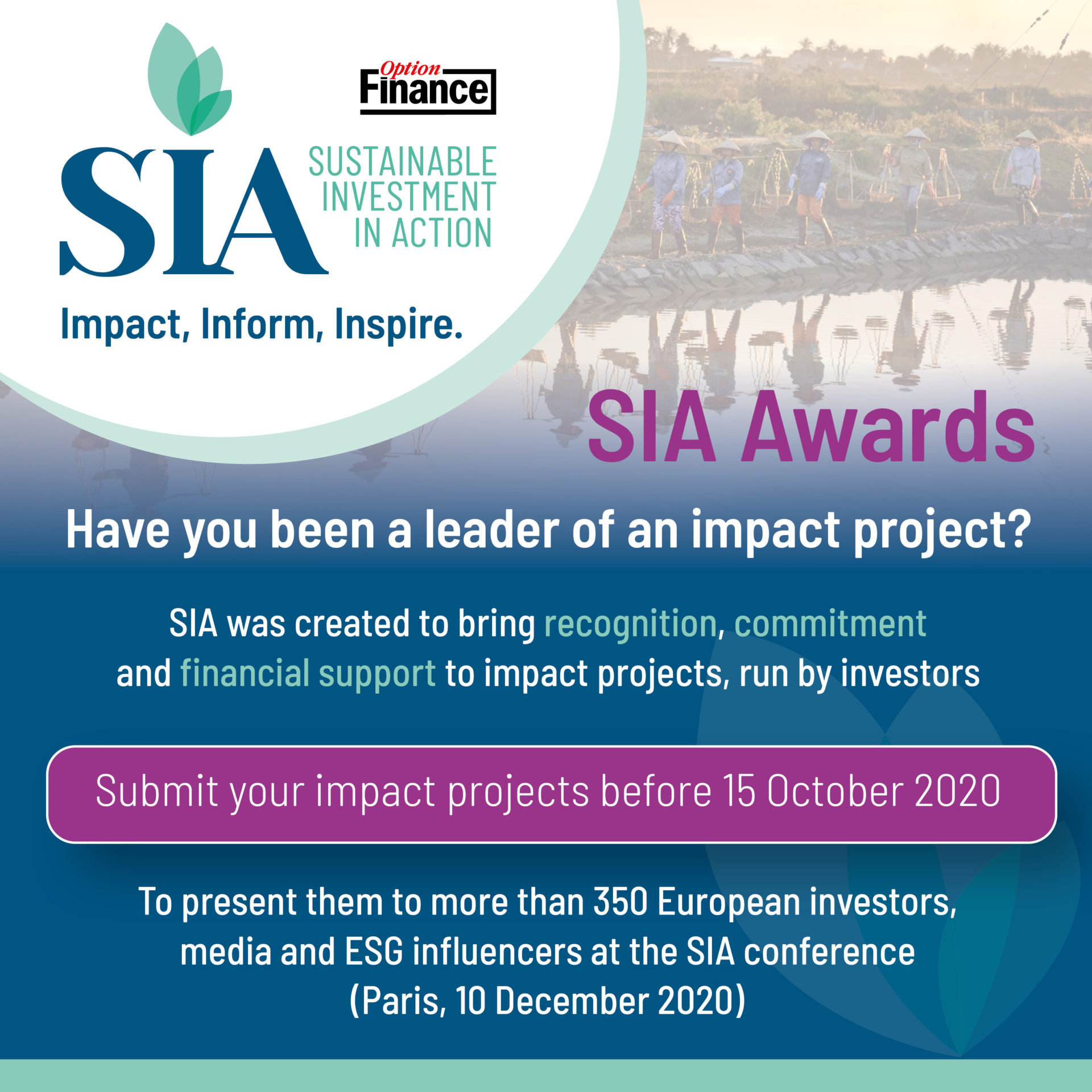 Sustainable Investment in Action Conference & Awards - Preview Image