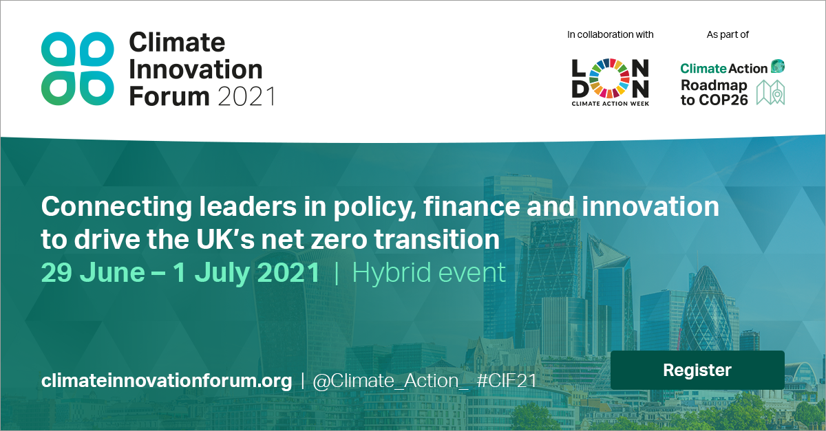 Climate Innovation Forum 2021 - Preview Image