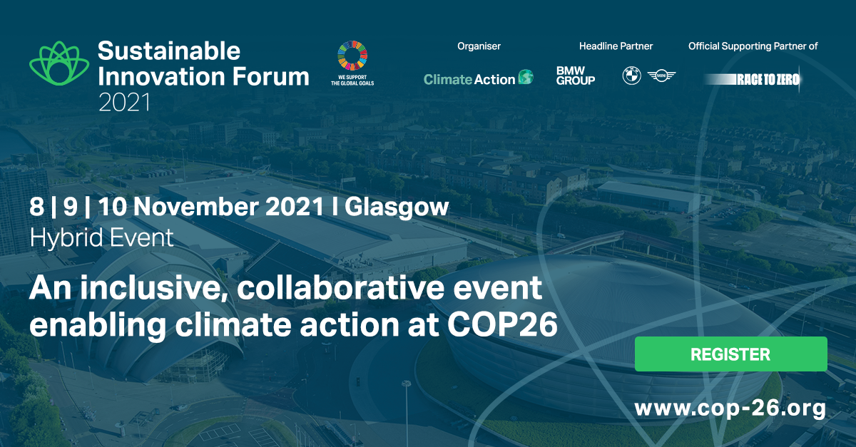 Sustainable Innovation Forum 2021 - Preview Image